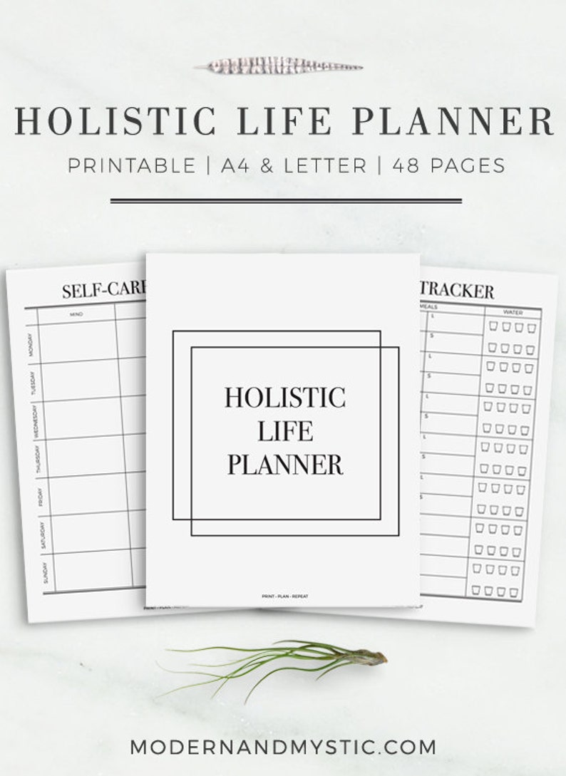 photo about Printable Life Planner known as The Holistic Lifetime Planner Greatest Printable Every day Planner Range  Each day Planner Printables Sophisticated Printable Lifetime Organizer