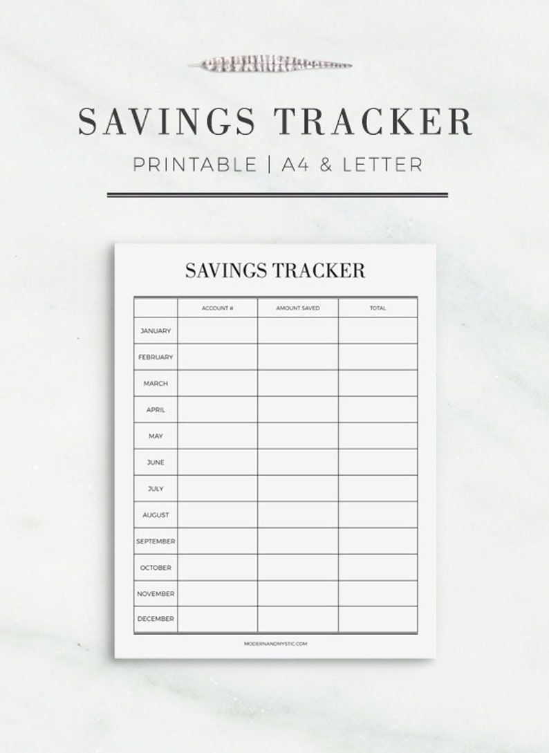 photo regarding Printable Currency Straps known as Discounts Tracker Printable Person Financial savings Planner Finance Printable  Spending budget Planner Printable Cost savings Enhancements Planner