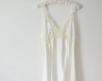 Bridal Victoria's Secret Slip Satin Wedding Gown