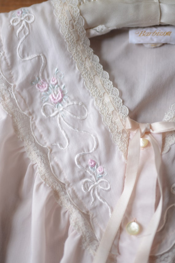 Vintage Feminine Pajama Pants & Top Set