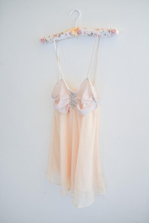 2000's Babydoll Slip Dress Lingerie