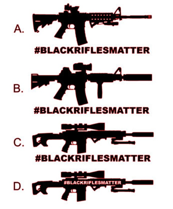 AR15  STICKER DECAL  AR 15 M4 M16 STICKER DECAL 2ND WINDOW STICKER