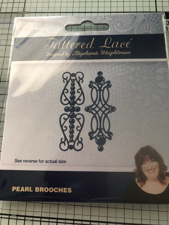 TTLD480 ~ RETIRED PRODUCT! Tattered Lace Dies ~ Angelique Border