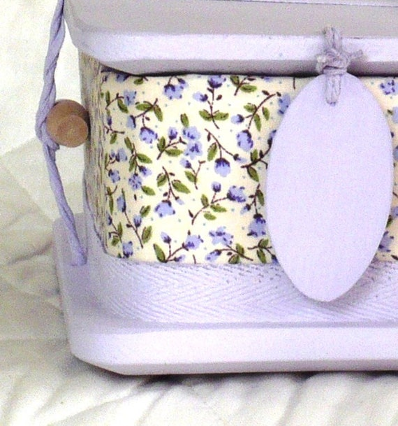 Lilac - ash casket for a child