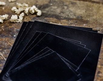 Modern Collodion 4x5 Wet Plate/Tintype Aluminum Plates - 15 Pack
