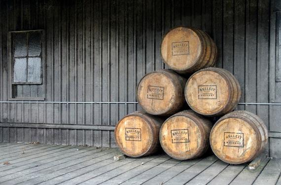Bourbon Barrel Art Home Decor Wall Art. Fine Art | Etsy