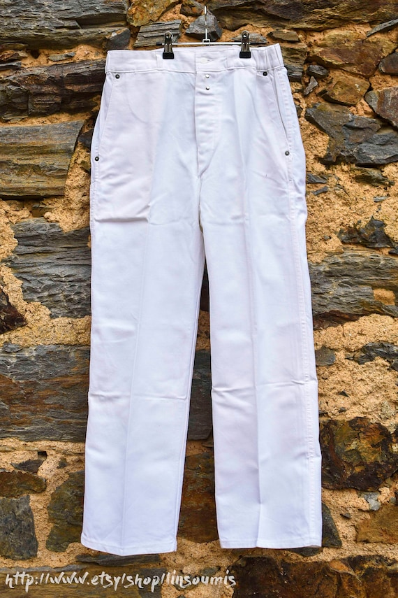 1960 french workwear used pant