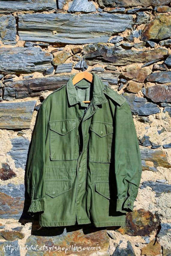 Rare Vintage korea US Army M51 jacket Size Medium