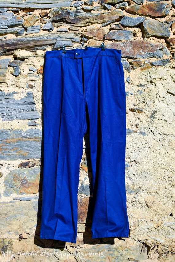 1960 french workwear pant mint