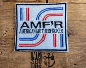 Rare patch patch embroidered AMF 39 R american motherf