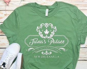 Disney Shirts Tianas Palace Tiana Shirt Princess and the Frog Shirt Disneyland Shirt Disney World Shirt