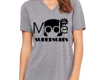 092c749528f75 Ladies Relaxed V Neck Tee Edna Mode Shirt Disneyland Shirt Disney World  Shirt Disney Shirt Incredibles Shirt Edna Mode Super Suits Shirt