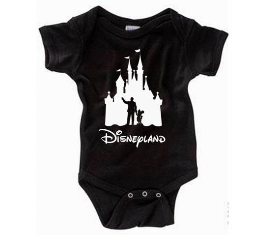 Disney Baby Shirt Walt And Mickey Partners Castle Shirt Etsy