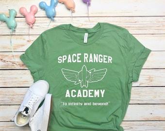 Disney Shirts Space Ranger Academy Shirt Buzz Lightyear Shirt disney shirt disneyland Shirt Disney World Shirt Magic Kingdom Shirt