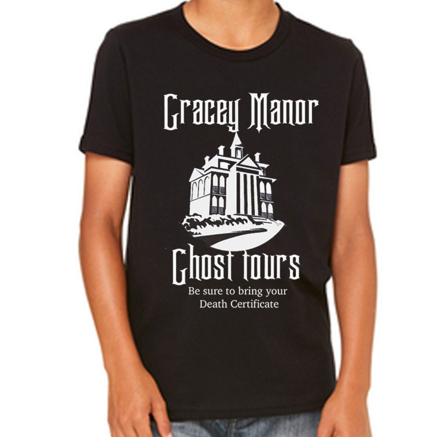 Disney Youth Shirt Disney Halloween Shirt Haunted Mansion Etsy
