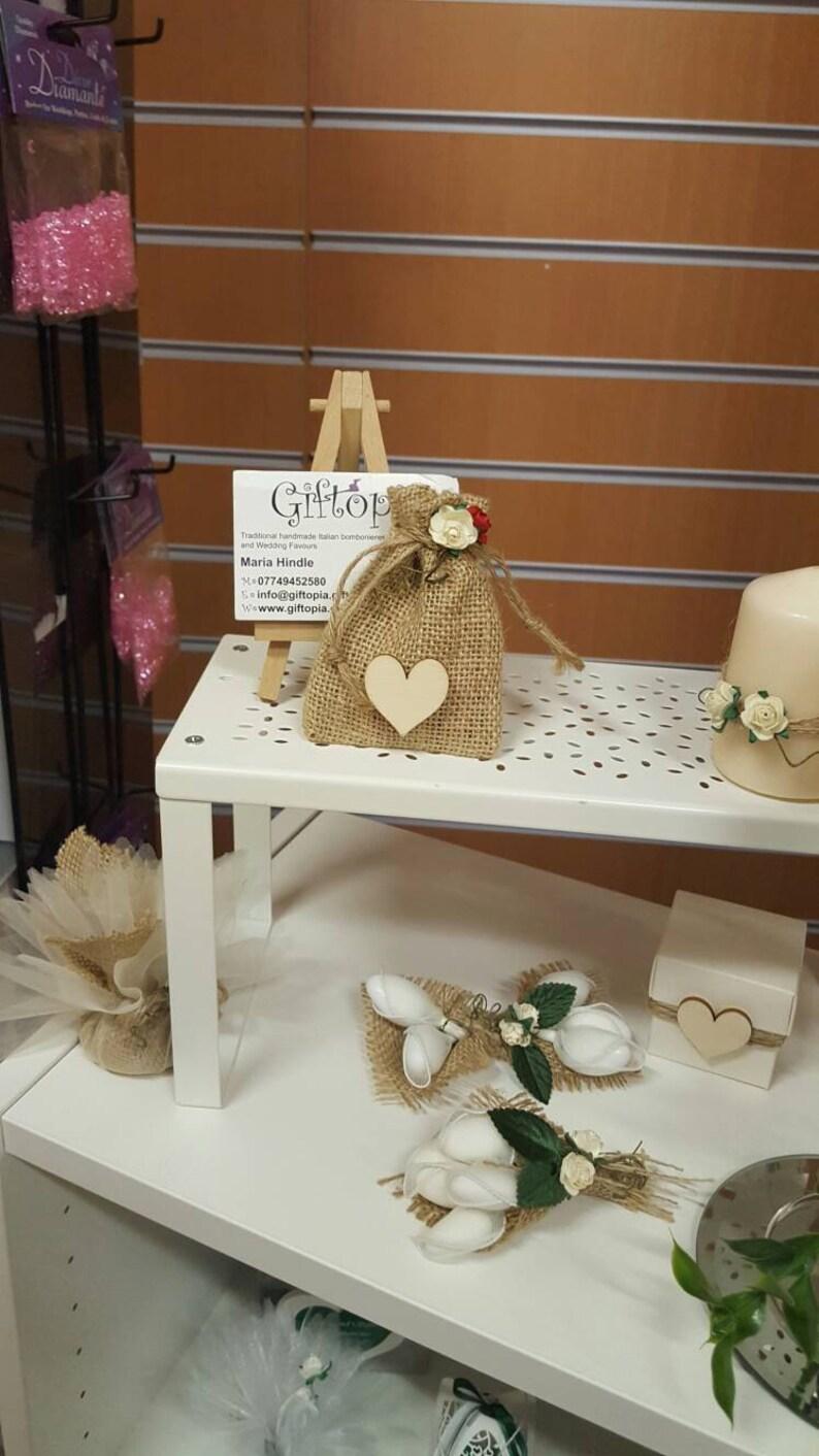 Hessian Wedding Favour Keepsake Guest Gift Table Etsy