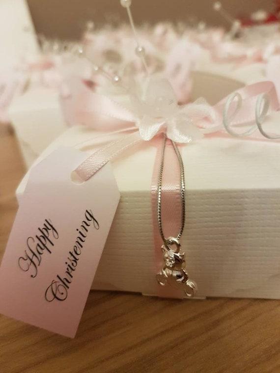 6 Jewellery Trinket Box Favour Bonbonniere Wedding Christening Birthday Keepsake