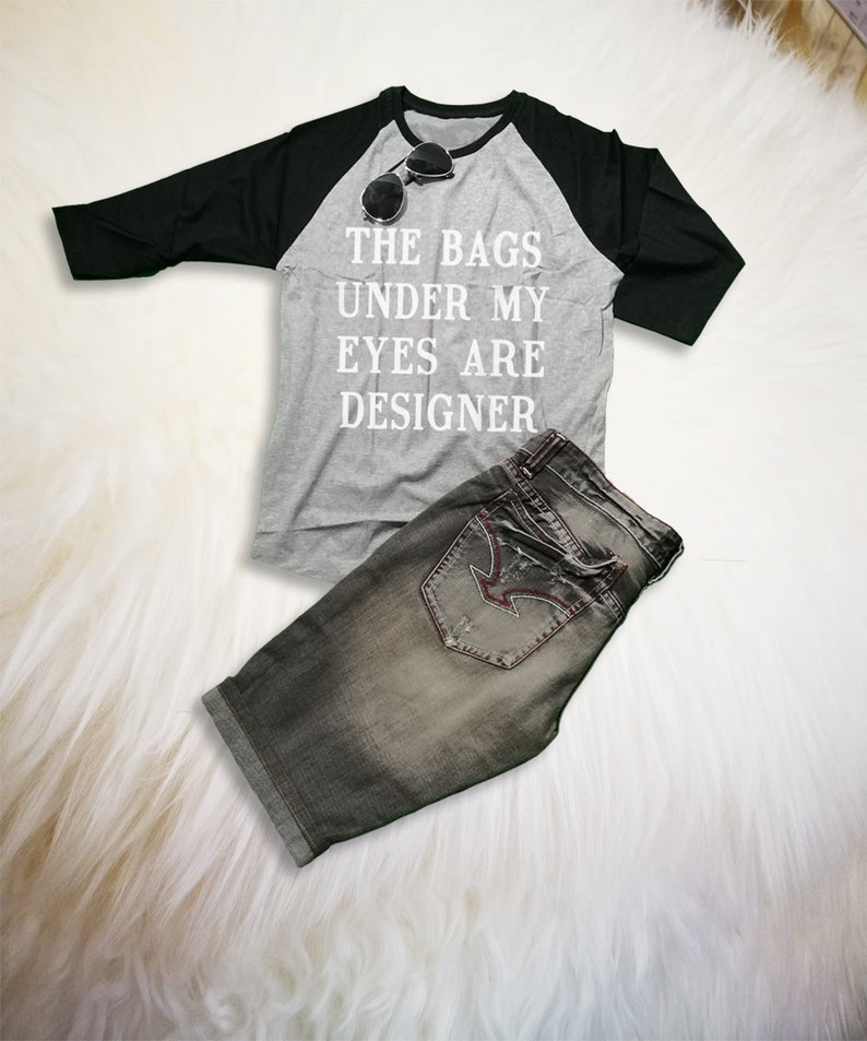 158efb892 3/4 Sleeve Baseball Tees Funny Graphic Shirts with sayings | Etsy