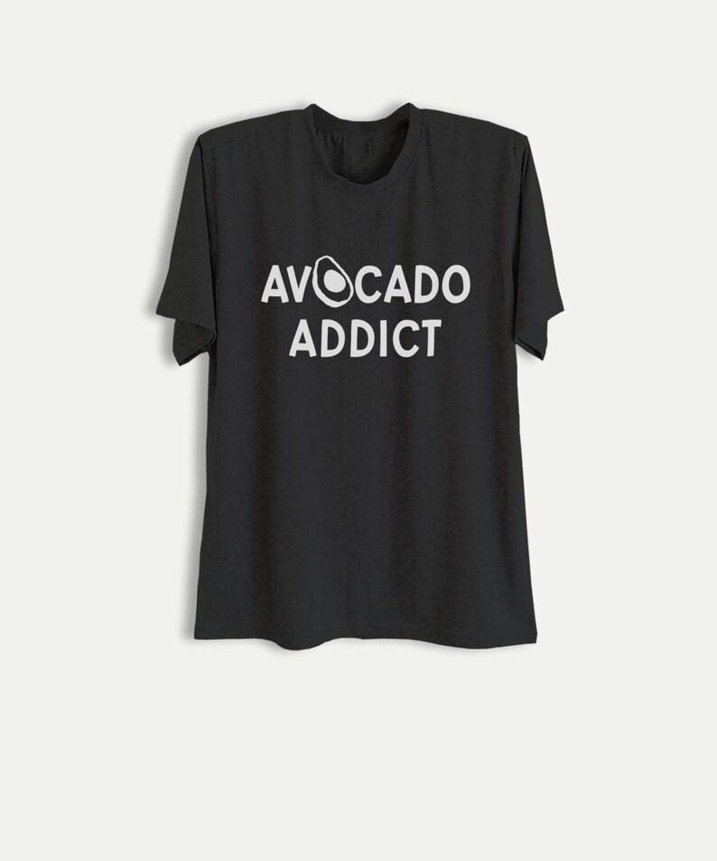 86607c9ab Avocado Shirt Avocado Addict TShirt Tumblr Graphic Tee Women | Etsy