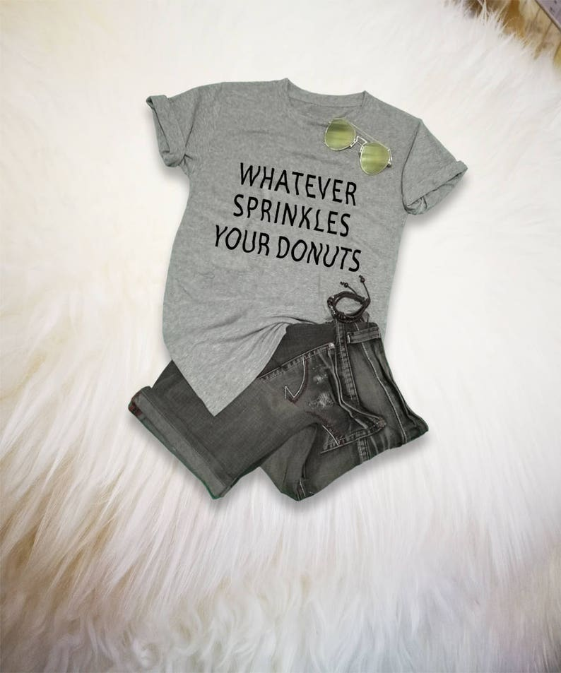 b68bedca Donut TShirt Mens Donut T Shirt Whatever Shirt Whatever | Etsy