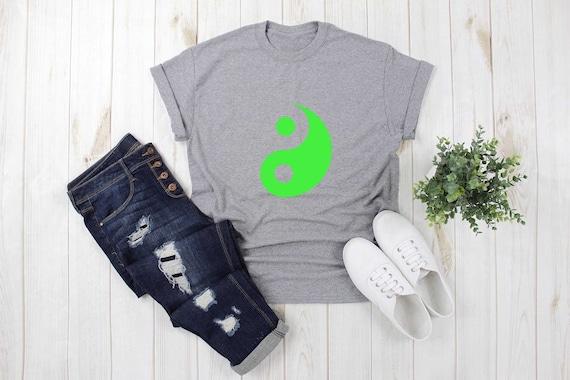 Teenagers Teen Girls Space Yin Yang Printed Long Sleeve 100/% Cotton T-Shirts