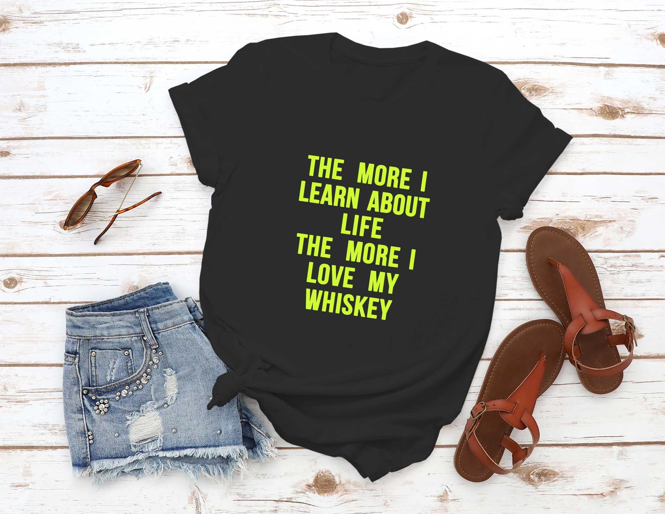 Whisky lover funny drinking t-shirt men/'s