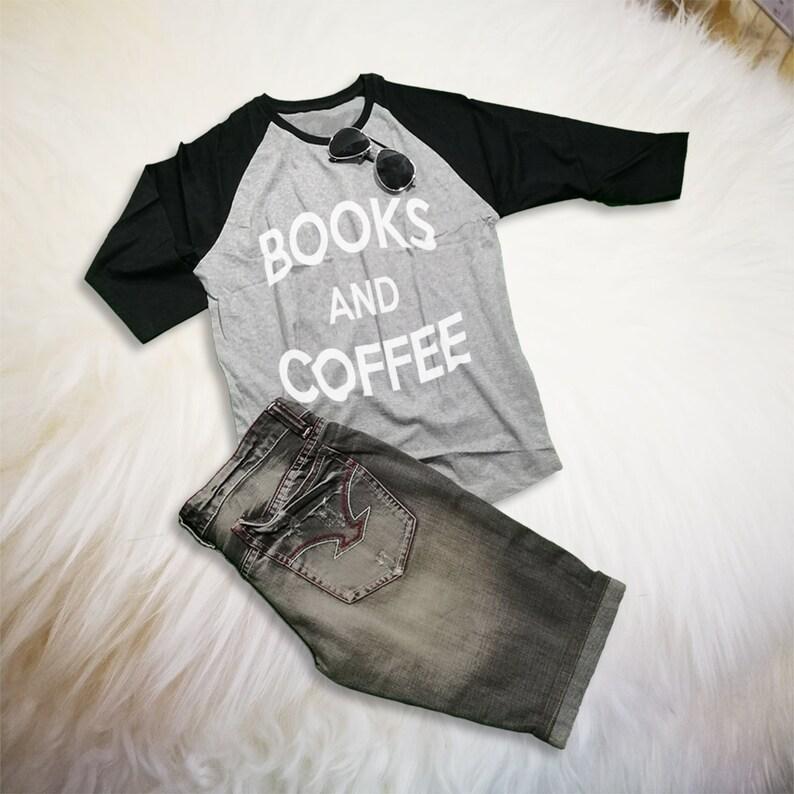 3bf091b2c Books Lovers Gifts Coffee Shirt Bookworm TShirt Reading Shirt | Etsy