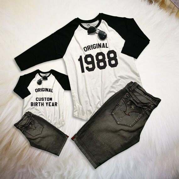 30th Birthday Shirt Gift For Him Original 1988