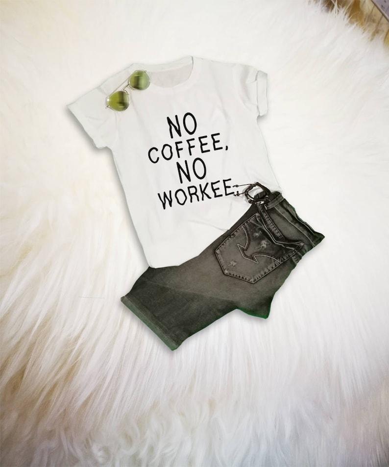 76ee9b091 Coffee TShirt Food Shirt Funny Coffee Shirt Coffee Lover Gift | Etsy