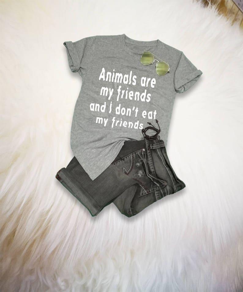28c6a4abf Vegan Shirt Vegetarian T Shirt Veggie Shirt Tee Womens Mens   Etsy