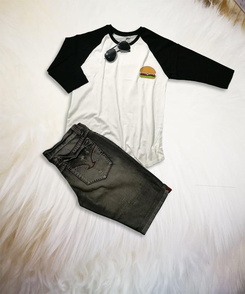 5bcc33a892b Funny Food T Shirts Hamburger Tee Shirt Burger Merch Shirt
