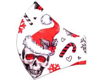 """MuNaske """"Santa Skulls"""" Größe M"""
