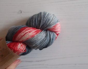 Hand Dyed Sock Yarn // Twilight //100g Strawberry Fields Yarns
