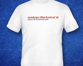 Sundance Film Festival 2018 Park City Utah Graphic T Shirt Sundance 18 Utah Film Festival Sundance SUPER SALE!