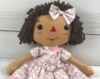 Raggedy Ann Doll - Personalized Rag Doll - Cinnamon Annie Doll - Girls Room Decor