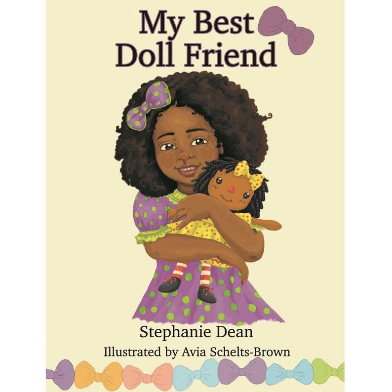 My Best Doll Friend  Children's Book  Raggedy Ann  image 0
