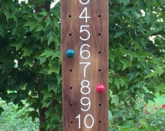 Petanque Scoreboard