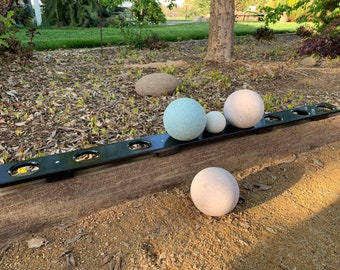 Bocce Ball Rack, Aluminum