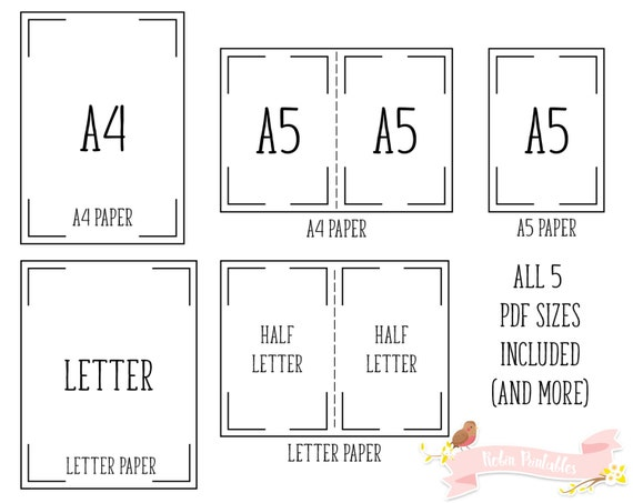 My Passwords Printable Planner Insert page. A4 Letter A5 | Etsy