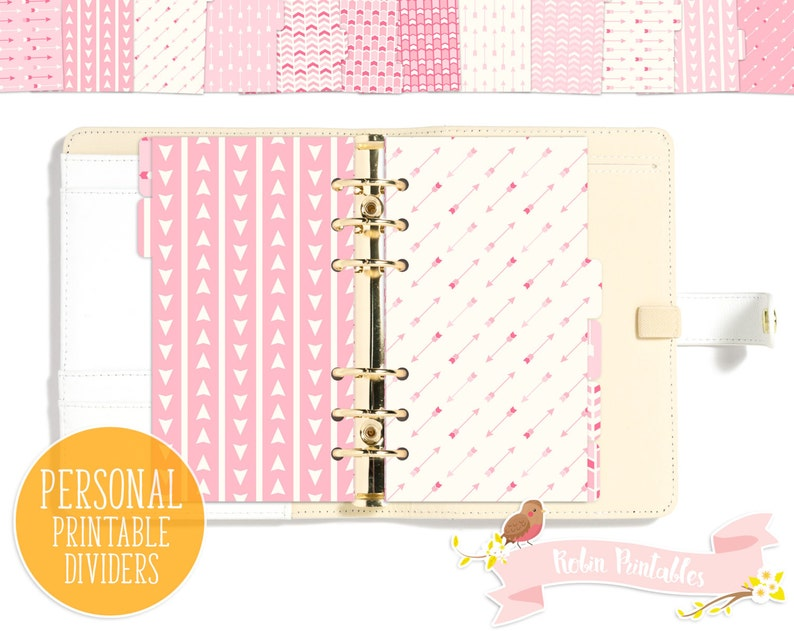 picture about Printable Divider Tabs referred to as Delicate Purple Boho Printable Planner Divider Tabs / Tribal Dashboard suits Individual Dimensions Organizer such as KikkiK or Filofax Person Seek the services of