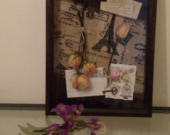 Dawn - Dried Floral Shadowbox
