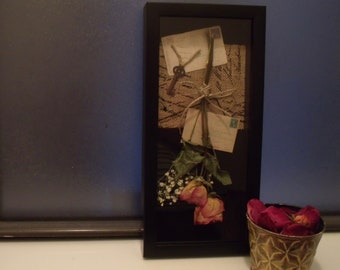 Amity - Dried Floral Shadowbox