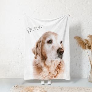 Dog Fleece BlanketTravel BlanketPet BlanketCamoMade in USAGift For DogGift For Dog OwnerMilitary Style