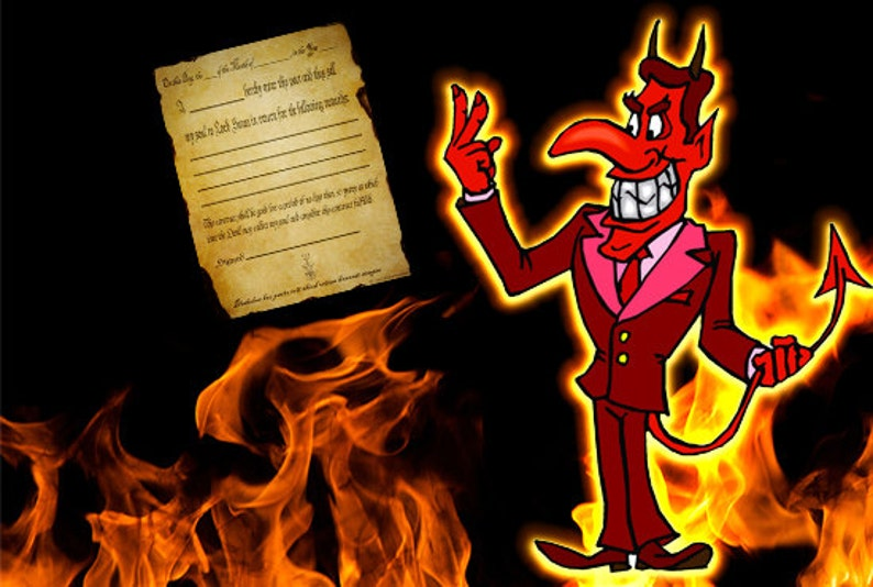 Sell Your Soul Pact With The Devil  Soul Contract image 0