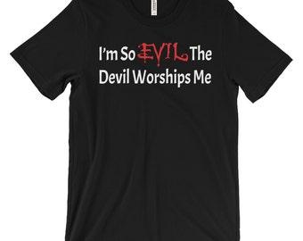 Devil Shirt - Satanic Shirts - Occult Shirts - Gothic Clothing