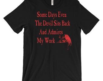 Occult Shirts - Gothic Shirts - Devil Shirt - Satanic Shirts