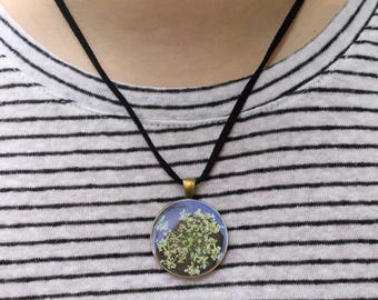 Real Flower Necklace