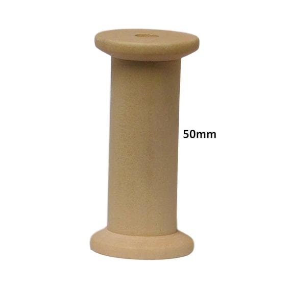 15mm,20mm packs of 10 Small wooden spools wood bobbins 12mm reels 10mm