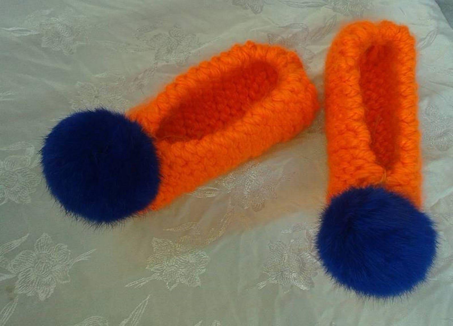 women's slippers, bridal slippers, non slip, wedding ballet flats, home shoes, fur pom pom, furry white chunky,women pom pom