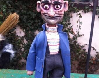 PURPLE Tie-Dye Playful Puppet Pal\u2122 Hand Puppet